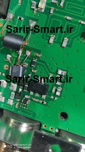 مدار آنتن مرکزی استفاده شده در مولتی سوئیچ تله تک ( TELEtek