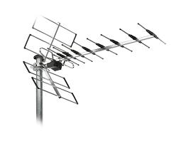آنتن هوایی در تعمیر آنتن مرکزی