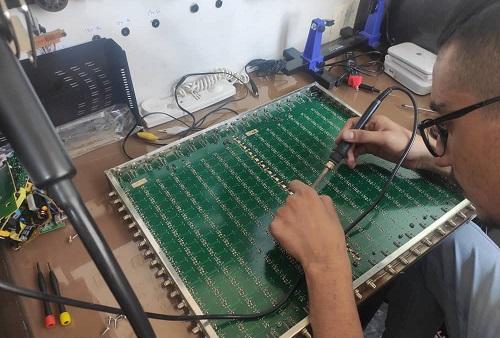 تعمیرات تخصصی مولتی سوئیچ ماهواره مرکزی